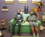 Bill at the opening of his 2011 show at the New Hampshire Children's Museum.