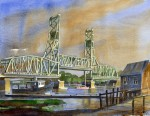 Memorial Bridge from Badgers Island (SOLD)