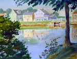 """South Mill Pond, Portsmouth16 x 22"""""""