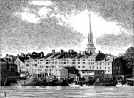 Ceres Street, Portsmouth from the Water